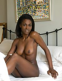 An ultimate sugar rush with Aubrey, with   her yummy dark-hued complexion, perky   nipples, and a sweet, decadent ass.