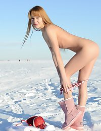 Nudity heavens the snow
